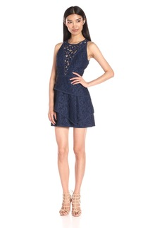 BCBG Max Azria BCBGMax Azria Women's Hanah Sleeveless Lace Cocktail Dress