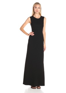 BCBGMax Azria Women's Izabelle Two Toned Evening Dress