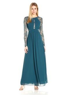 BCBGMax Azria Women's Janette Woven Evening Dress