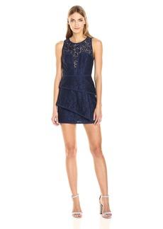 BCBG Max Azria BCBGMax Azria Women's Jazlyn Knit Evening Dress