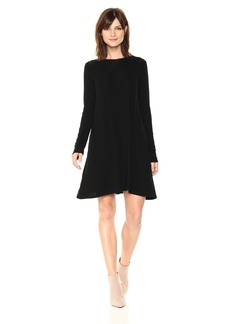 BCBGMax Azria Women's Jeanna Knit Crew Neck Dress  L
