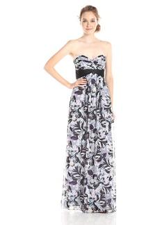 BCBGMax Azria Women's Kai Printed Maxi Dress