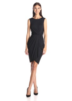 BCBGMax Azria Women's Kaia Pleated Front Sleeveless Dress