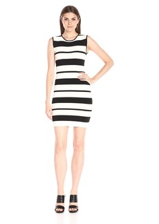BCBGMax Azria Women's Kailee Striped Bodycon Dress