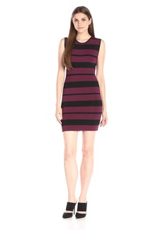 BCBGMax Azria Women's Kailee Striped Bodycon Dress