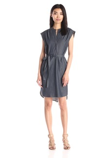 BCBG Max Azria BCBGMax Azria Women's Kayli Shirt Dress with Tie at Waist