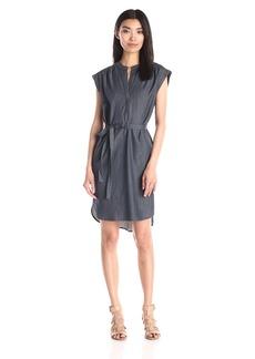 "BCBGMax Azria Women's ""Kayli"" Shirt Dress with Tie At Waist"