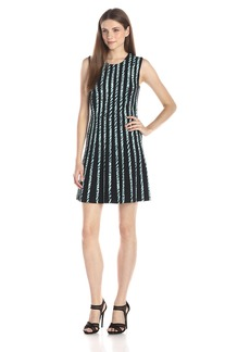 BCBG Max Azria BCBGMax Azria Women's Kaylin Printed Stripping Ponte Dress