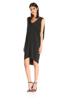 BCBGMax Azria Women's Kerstin Side-Drape Knit Dress
