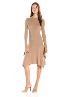 BCBGMax Azria Women's Knit Casual Ribbed Dress  M