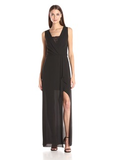 BCBGMax Azria Women's Koko Woven Evening Dress