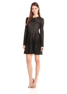 """BCBGMax Azria Women's """"Kyla"""" A Line Lace City Dress"""