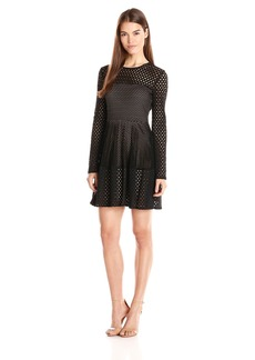 "BCBGMax Azria Women's ""Kyla"" A Line Lace City Dress"
