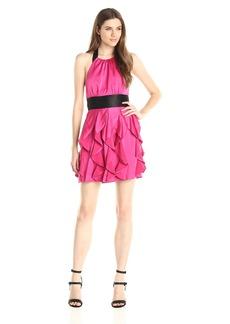BCBGMax Azria Women's Layla Woven Evening Dress