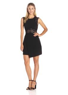 BCBGMax Azria Women's Leandrea Short Sleeve Dress