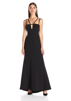BCBGMax Azria Women's Leola Long Double Dress