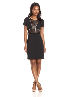 BCBGMax Azria Women's Libi Woven City Dress