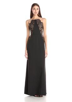BCBGMax Azria Women's Lilyana Woven Evening Dress