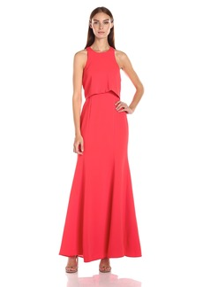 BCBGMax Azria Women's Louella Woven Evening Dress