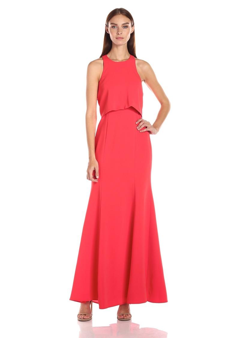 BCBGMax Azria Women's Louella Woven Evening Dress