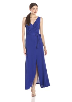 Bcbgmaxazria Women's Mae Maxi Dress With Front And Back V-Neck -  -