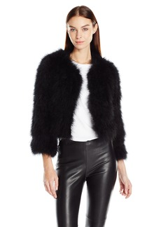 BCBGMax Azria Women's Margaret Woven Jacket  S