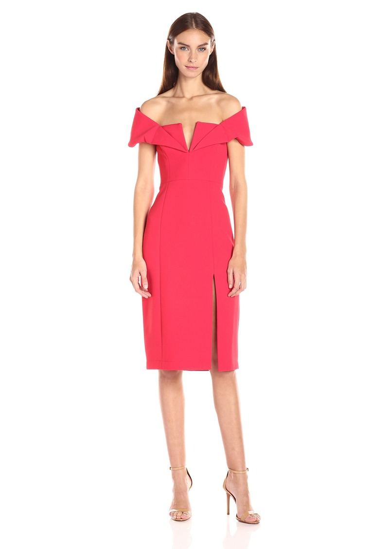 BCBGMax Azria Women's Marquise Woven Evening Dress