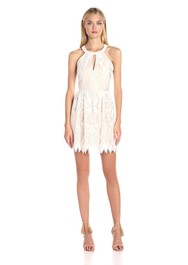 BCBG Max Azria BCBGMax Azria Women's Megyn Halter Cocktail Dress