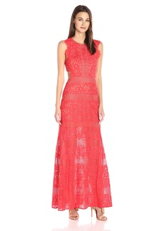 BCBGMax Azria Women's Merida Knit Evening Dress