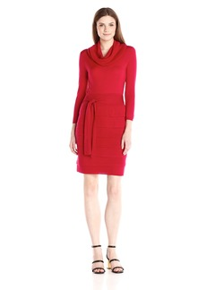 BCBGMax Azria Women's Miriam Sweater Day Dress