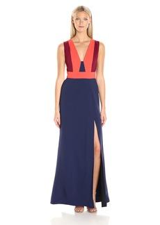 BCBGMax Azria Women's Natalli Woven Evening Dress