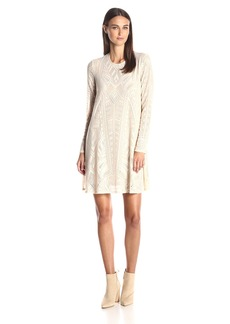 BCBG Max Azria BCBGMax Azria Women's Natyly Long Sleeve a Line Dress