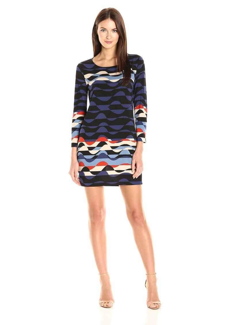 BCBG Max Azria BCBGMax Azria Women's Noely Knit Casual Dress  L