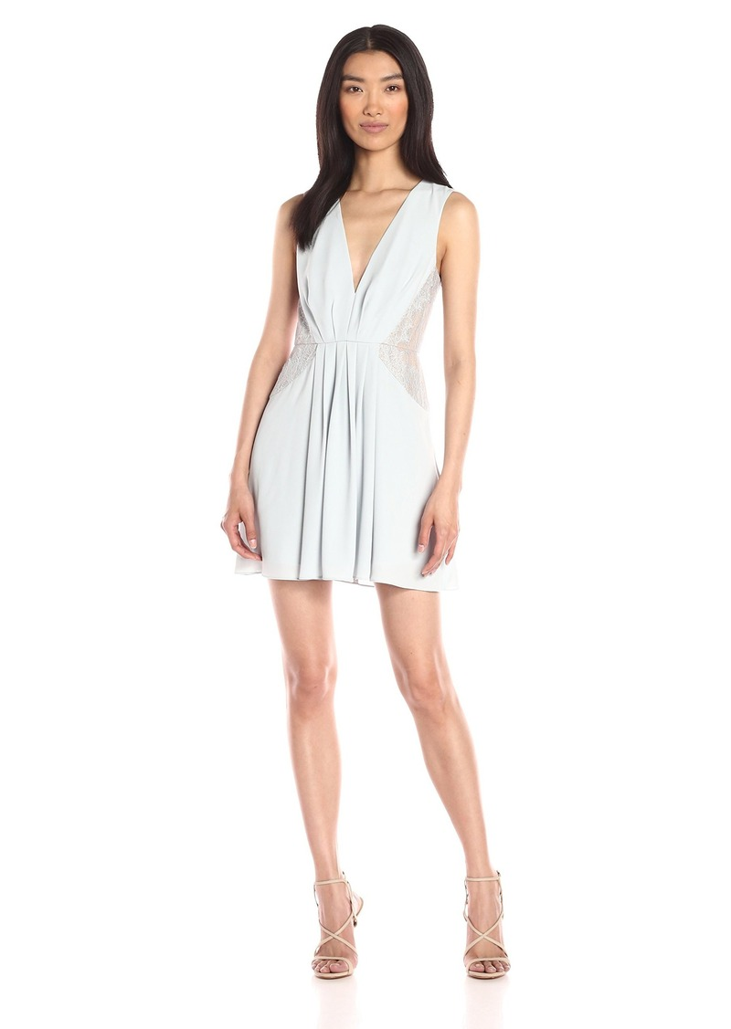 BCBG Max Azria BCBGMax Azria Women's Rania Cocktail Dress with Lace Inset