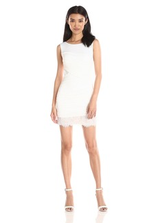BCBGMax Azria Women's Renay Shirred Sleeveless Dress