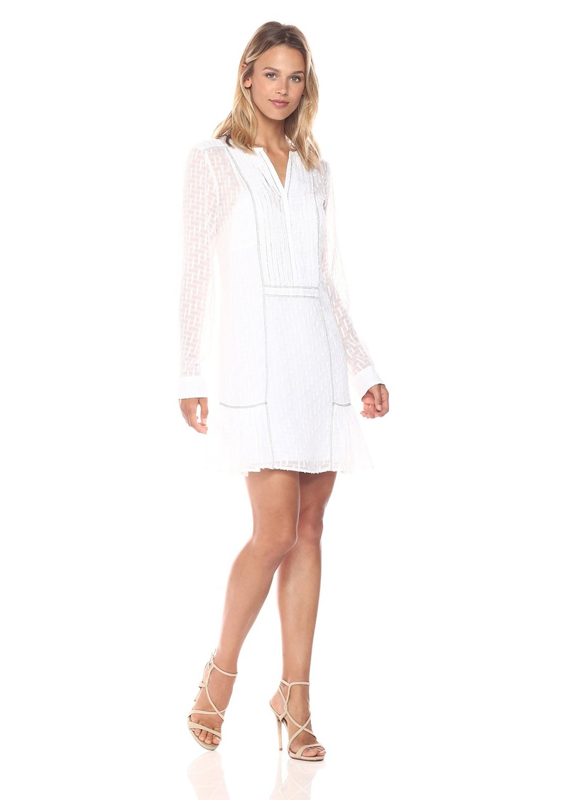 BCBG Max Azria BCBGMax Azria Women's Rosaline Long Sleeved Woven Dress  M