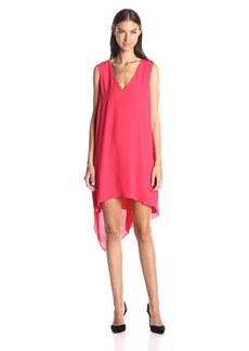 BCBGMax Azria Women's Shana Cascade Drape Dress