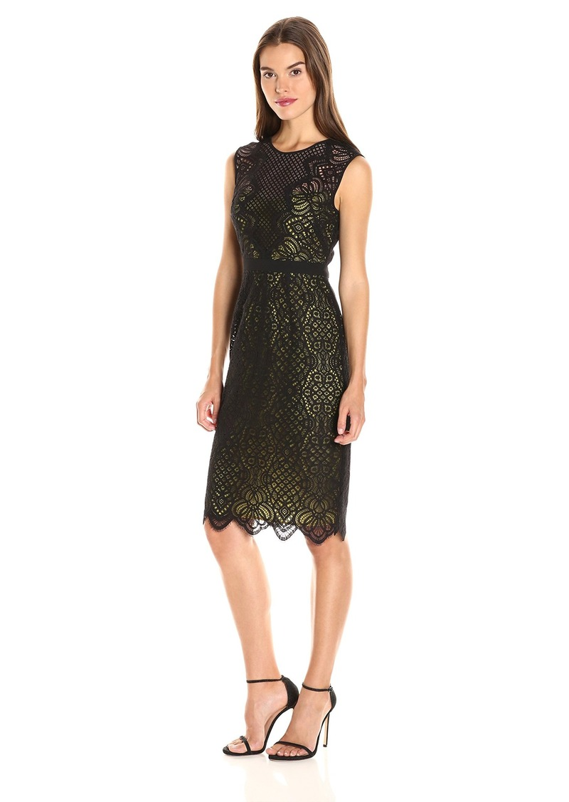 BCBGMax Azria Women's Suzannah Knit Evening Dress