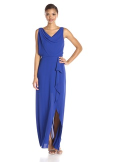 BCBGMax Azria Women's Sydney Woven Evening Dress