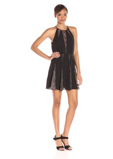 BCBGMax Azria Women's Teena Cocktail Dress with Lace