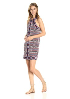 BCBGMax Azria Women's Tesa Halter Knit City Dress  S