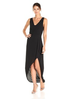 BCBG Max Azria BCBGMax Azria Women's Tobyn Asymmetrical High Low Woven Dress  L