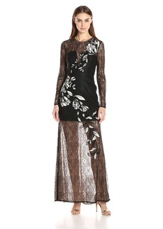 BCBGMax Azria Women's Veira Embroidewred Dress