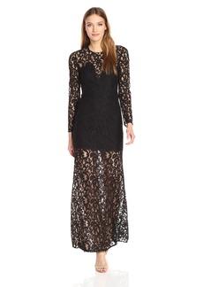 BCBGMax Azria Women's Veira Knit Evening Dress