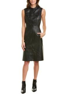 Bcbgmaxazria Allexandria Black Sheath Dress