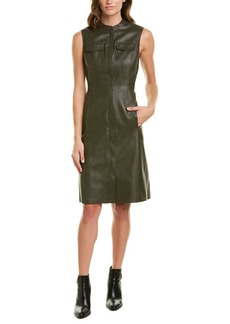 Bcbgmaxazria Allexandria Olive Sheath Dress