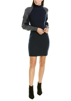 Bcbgmaxazria Mock Wool-Blend Sweaterdress