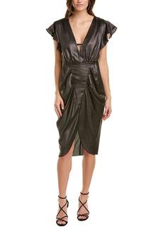 Bcbgmaxazria Shirred Sheath Dress