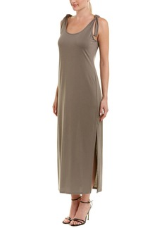 Bcbgmaxazria Tie-Shoulder Midi Dress