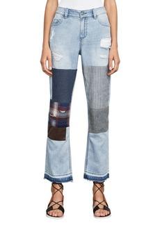 Billie Cropped Boyfriend Jeans